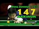 Ding Junhui 丁俊晖 147 MAXIMUM Vs Mark Selby - The Tibet Challenge 2019 - Exhibition