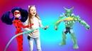 Куклы иИгрушки— Барби иЛеди Баг против Зеленого Гоблина— Охотники заигрушками!