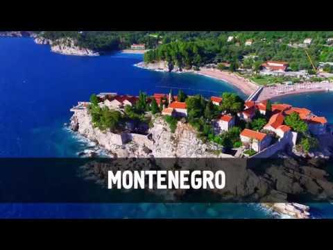 Montenegro Drone Footage Tivat, Budva, Kotor drone video Черногория Тиват, Будва, Котор с дрона
