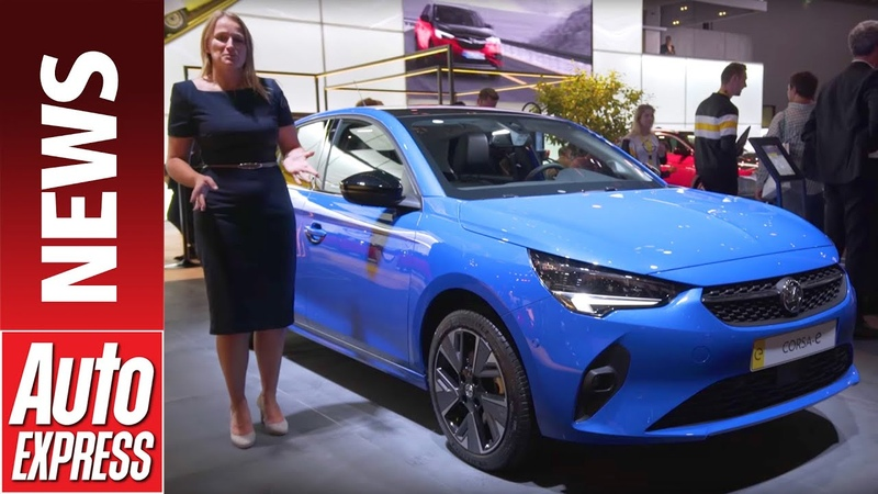 New 2020 Vauxhall Corsa-e - supermini heads up Vauxhall's EV future