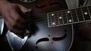 Krbi's Guitar - Working Man Blues (bottleneck resonator)