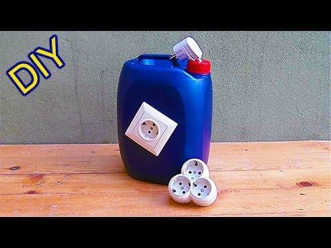 PVC Boru ve Plastik Bidon ile Parlak Fikir Bright Idea With PVC Pipe and Plastic Canister