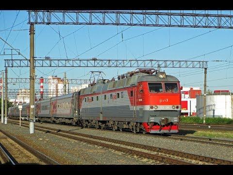 ZDSimulator cценарий пассажирского поезда №5 Украина Киев Москва часть 2