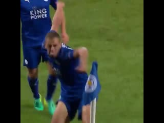 The first ever champions league goal at king power stadium ⚽️