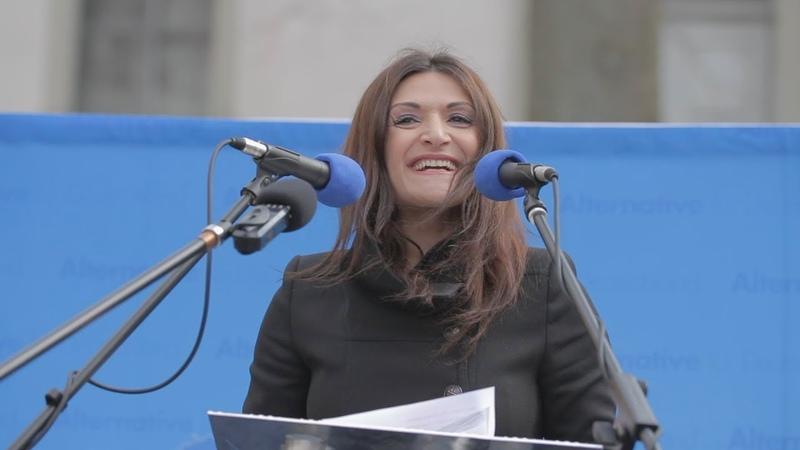 Leyla Bilge Der Islam gehört nicht zu Deutschland AfD Demo Hachenburg