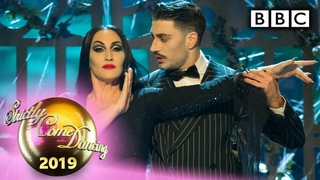 Michelle and Giovanni Foxtrot to the Addams Family theme - Halloween | BBC Strictly 2019