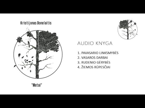 Audio knyga - Kristijonas Donelaitis - METAI