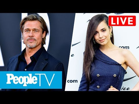 Brad Pitt Opens Up About Getting Sober, 'Descendants' Star Sofia Carson Joins Us LIVE   PeopleTV