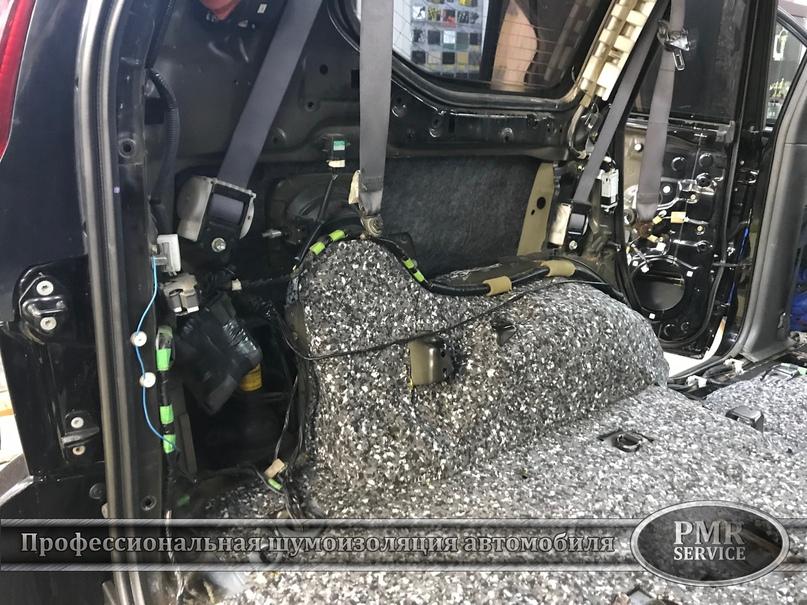 Комплексная шумоизоляция Toyota Land Cruiser 120, изображение №18