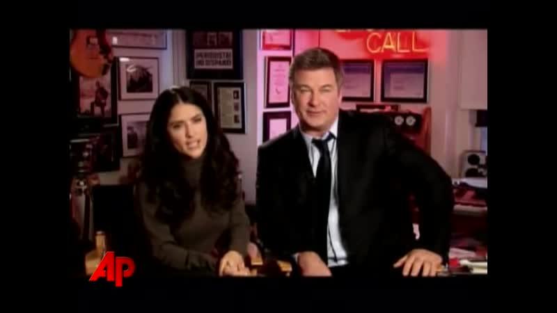 Видео 2008 | Сальма Хайек и Алек Болдуин о сериале «Тридцать потрясений» (30 Rock) смотреть онлайн