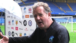 Interviews With Soccer Aid Participants - Piers Morgan, Usain Bolt, Sam Allardyce, Didier Drogba