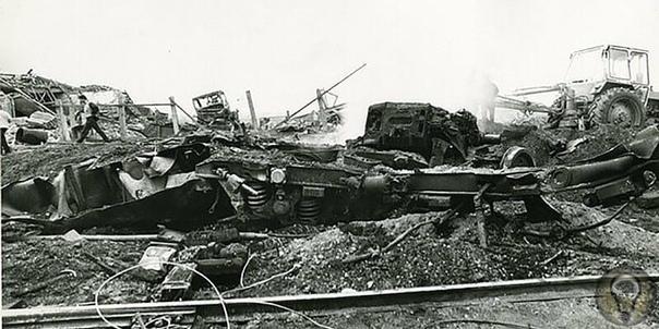 В ночь с 5 на 6 декабря 1978 года на станции Куровская произошёл взрыв двух вагонов, гружёных взрывчатыми веществами