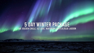 5 Day Winter Package   The Golden Circle, Ice Cave, Northern Lights & Blue Lagoon