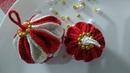 Bolinhas de natal em crochê com Maria José