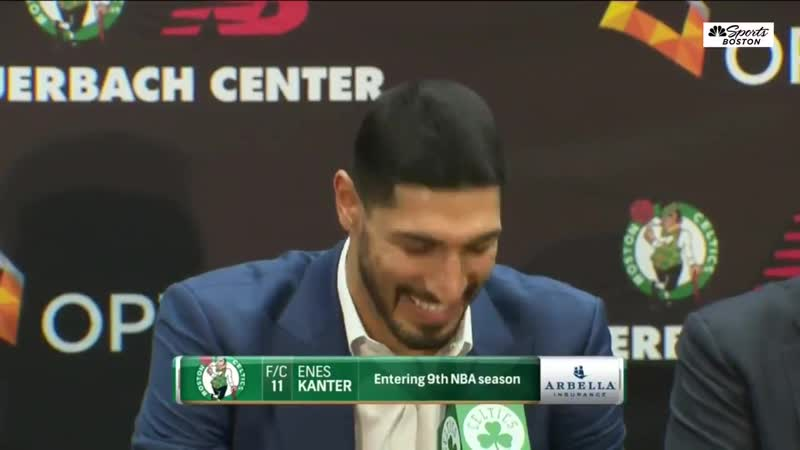 Enes Kanter on why he chose 11