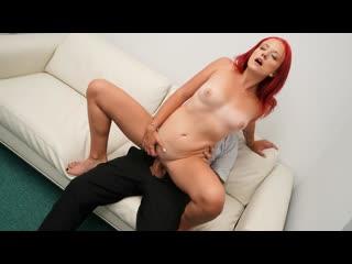 [fakeagent] tiffany love redhead fucked on the desk newporn2019
