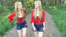 NORWEGIAN WOOD The Beatles Harp Twins Camille and Kennerly