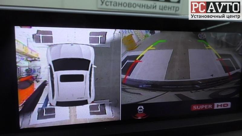 Система кругового обзора на любой автомобиль Процесс калибровки