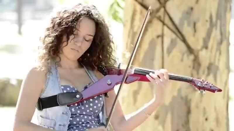 Hula Hoop OMI Electric Violin Cover Caitlin De