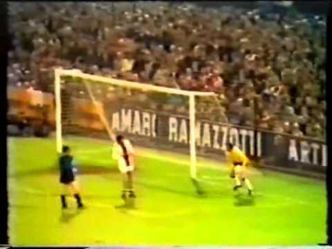 Cup of European Champions 1971-72 Internazionanle vs Ajax