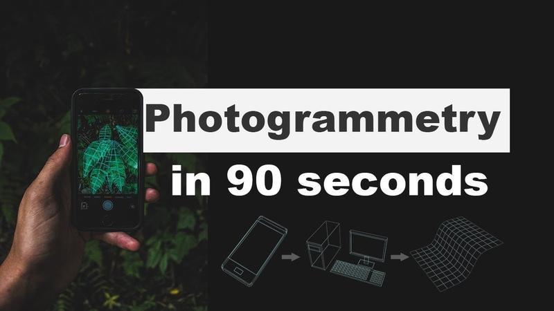 Smartphone 3D scan in 90 seconds Photogrammetry смотреть онлайн без регистрации