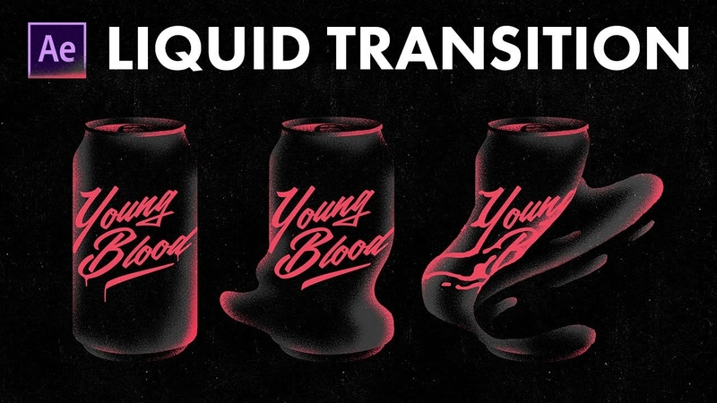Liquid Transition - After Effects Workflow Tutorial