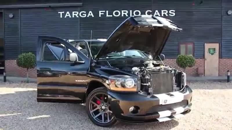 Dodge Ram Night Runner 8.3 V10 SRT-10 LHD 4door Automatic Pick Up in Black 2006