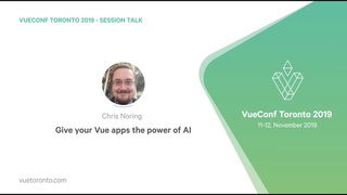 Give your Vue apps the power of AI by Chris Noring