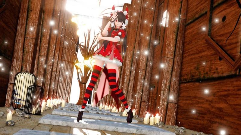 MMD アンノウン・マザーグース b s Christmas 狂三