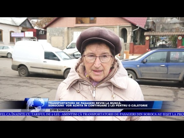 TRANSPORTATORII DE PASAGERI REVIN LA MUNCĂ SOROCENII VOR ACHITA ÎN CONTINUARE 2 LEI PENTRU O CĂLĂT