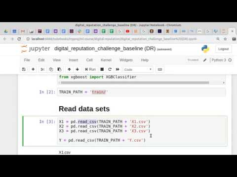 Разбор конкурса на Boosters начало работы с данными методы работы с Pandas DataFrame