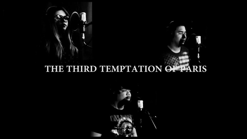 Alesana - The Third Temptation of Paris cover