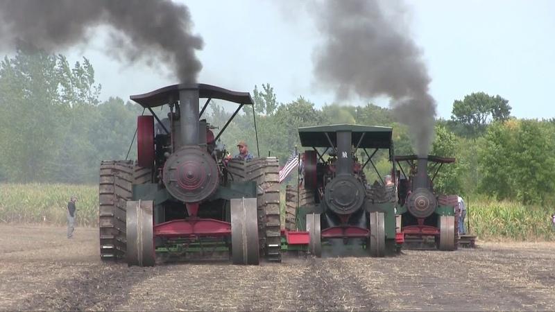 Steam Threshing Days at Heritage Park, Forest City, Iowa