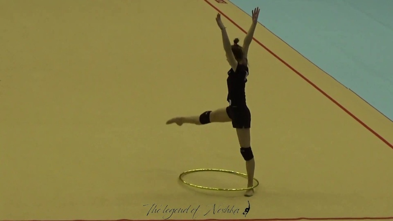 Anna KAMENSHCHIKOVA (BLR) hoop - 2019 Trofeu de Barcelona trainings