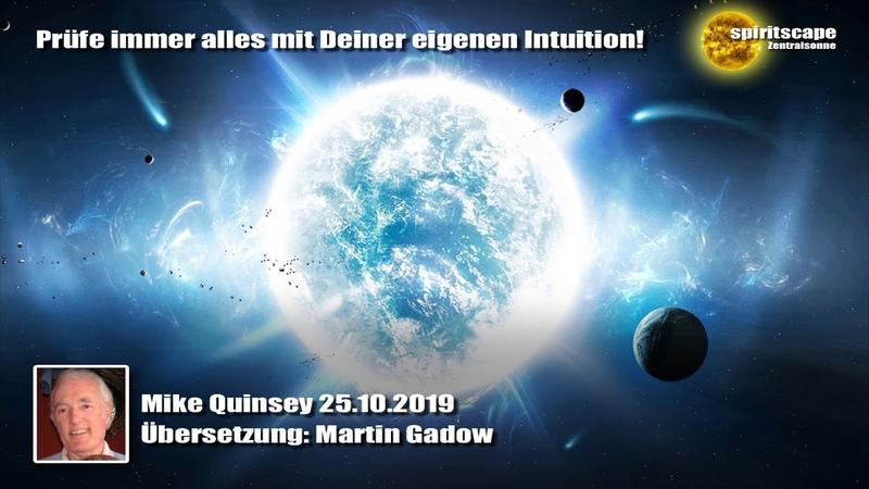 Mike Quinsey 25.10.2019 (Deutsche Fassung / Echte Lesung)
