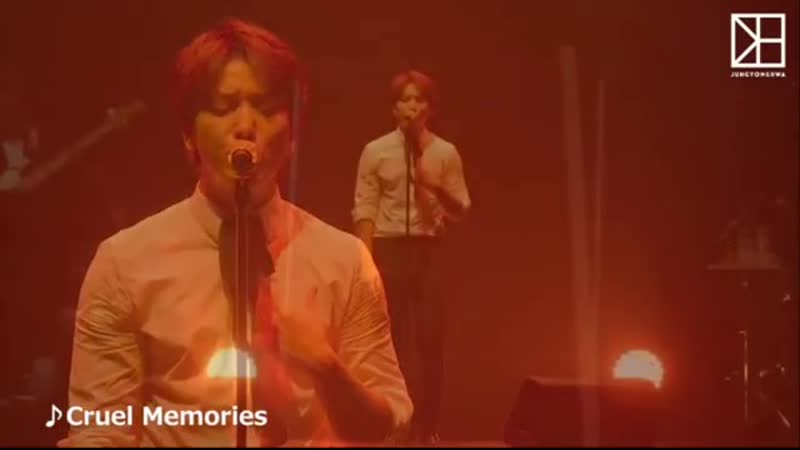200408 cnblue official jp Подтвержденный Jung Yong Hwa Special Movie ♪Cruel Memories