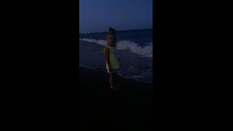 Ночной шторм 5. август 2019 Крым