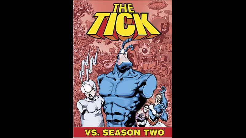Тик герой The Tick 2 й сезон сериал 1994 1997