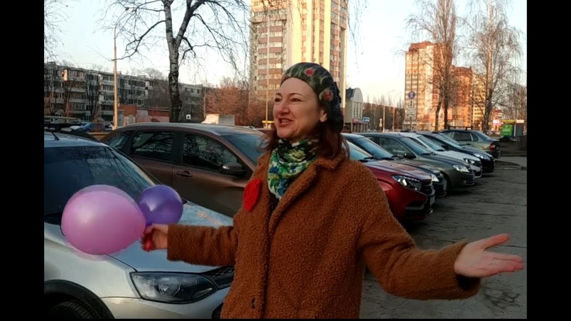 Екатерина Федощук исполняет стихотворение Игоря Быстрицкого Мы вазовцы тольяттинцы