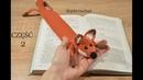 Jak zrobić szydełkiem zakładkę do książki lisa - część 2 - ilta4crochet
