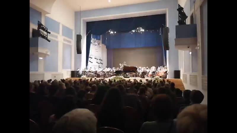 Рахманинов Концерт для ф-но с оркестром номер 2 (3ч).