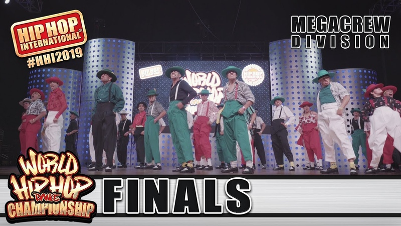 UpClose: The Jukebox - Mexico (2nd MegaCrew) | HHI's 2019 World Hip Hop Dance Championship Finals