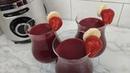 Невероятно вкусный и полезный смузи из клубники, банана, смородины и фруктово-ягодного чая