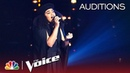 Audri Bartholomew Wins Over JHUD with Loren Allred's Never Enough The Voice 2018 Blind Auditions