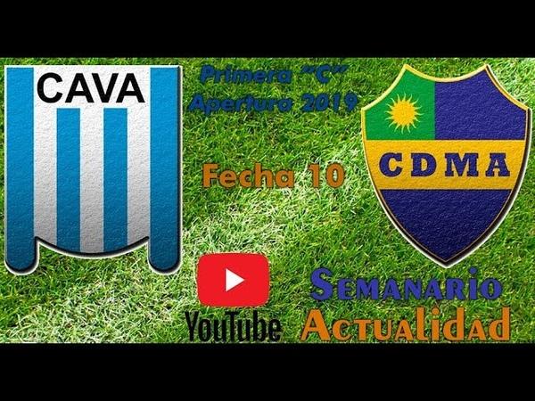 Primera C Apertura 2019 Fecha 10 Victoriano Arenas vs Alem