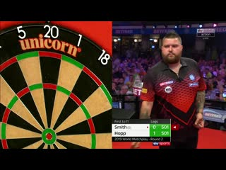 Michael Smith vs Max Hopp (PDC World Matchplay 2019 / Round 2)