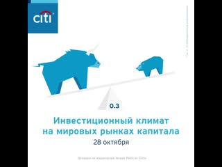 Взгляды аналитиков Сити на мировые рынки капитала. 28 октября 2019 года