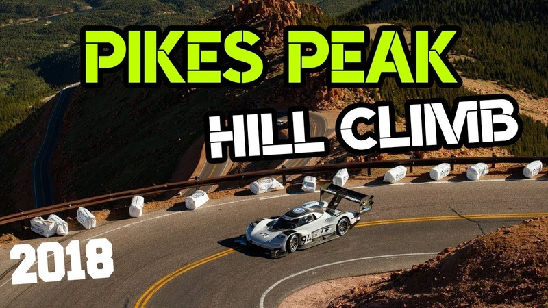 Pikes Peak International Hill Climb 2018 Race Day! 0-100 in 2.2 seconds!