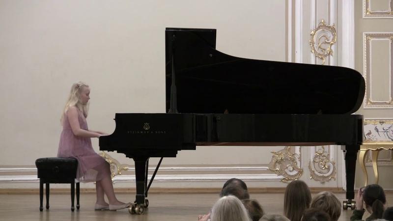 Концерт памяти О Курнавиной МЗФ 09 06 19