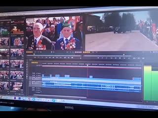 Монтаж парада на Площади. Скоро в Илишевских вестях! #khadimullin